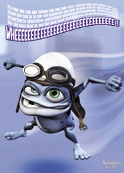 Plagát Crazy Frog - Wheeee!