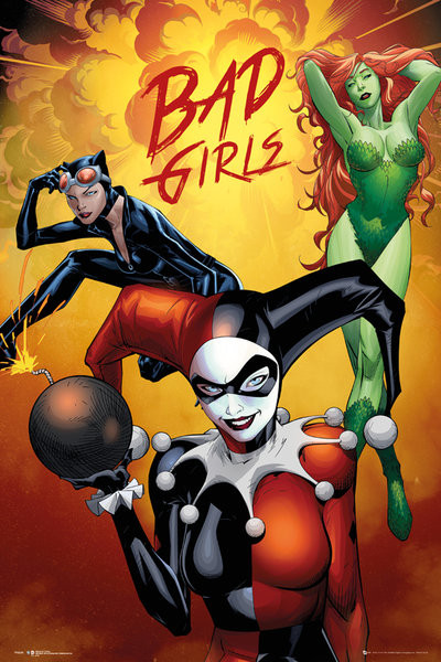 Plagát DC Comics - Badgirls Group