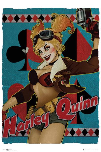 Plagát DC Comics - Harley Quinn Bombshell