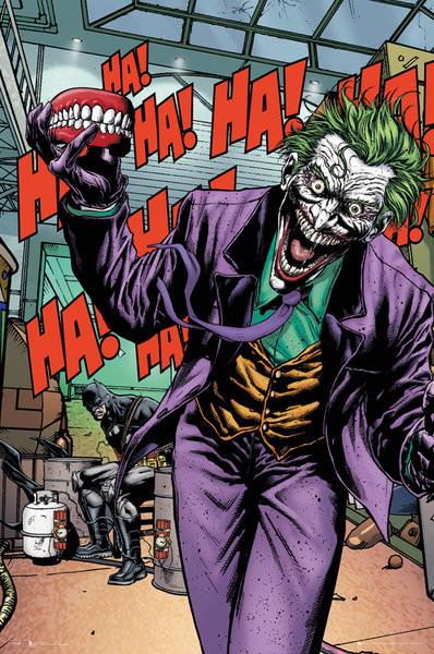 Plagát DC Comics - Joker Forever Evil