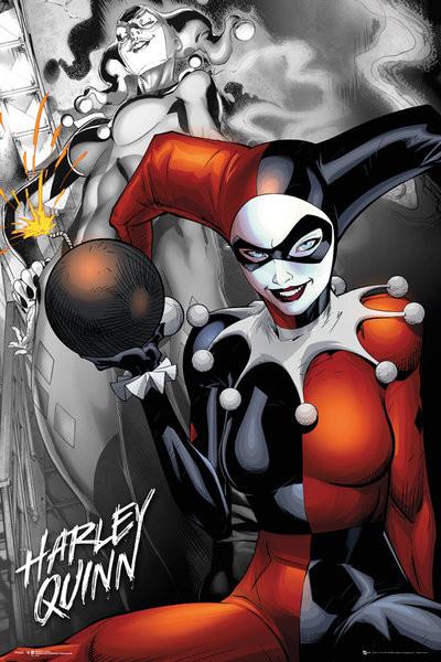 Plagát DC Comics - Quinn The Bomb