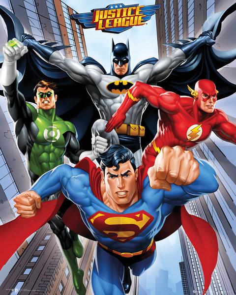 Plagát DC Comics - Rise