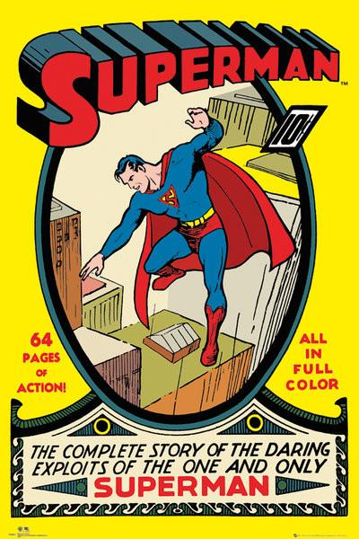 Plagát DC COMICS - superman