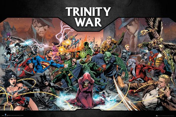 Plagát DC Comics - Trinity War