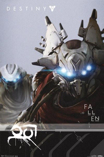 Plagát Destiny - Fallen