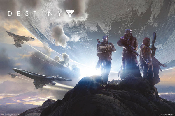 Plagát Destiny - Trio Landscape