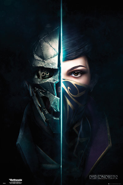 Plagát Dishonored 2 - Faces