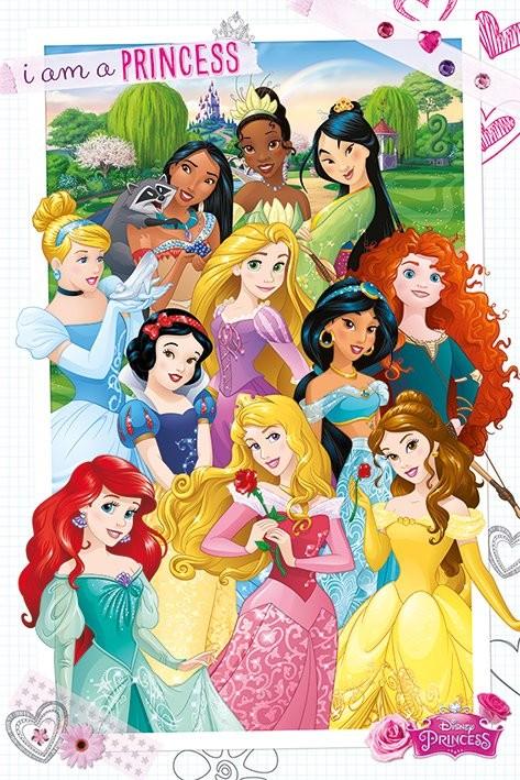 Plagát Disney Princezny - Princezny