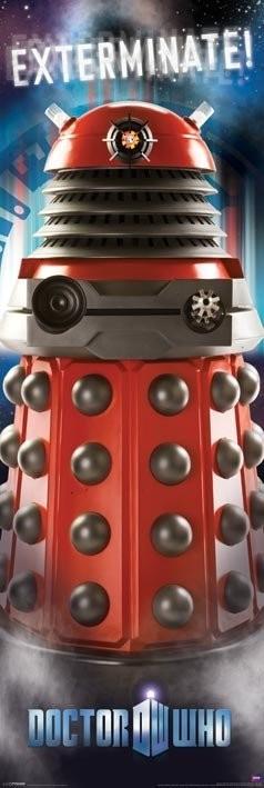 Plagát  Doctor Who - Dalek