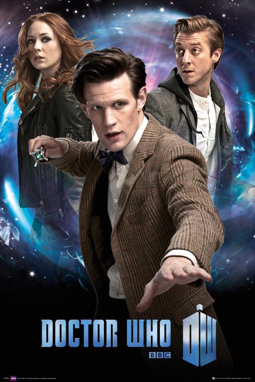 Plagát DOCTOR WHO - trio