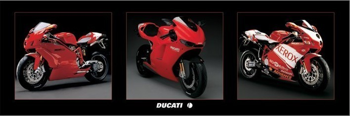 Plagát Ducati - bikes