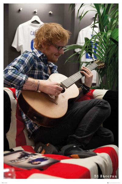 Plagát  Ed Sheeran - Wembley