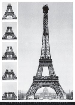 Plagát Eiffel tower - european