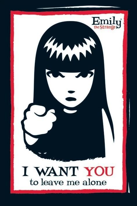 Plagát Emily the strange - i want you