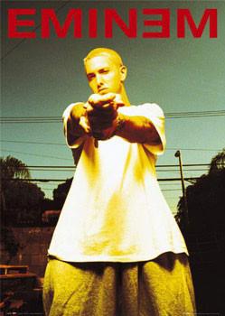 Plagát Eminem - anger
