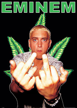 Plagát Eminem - dope
