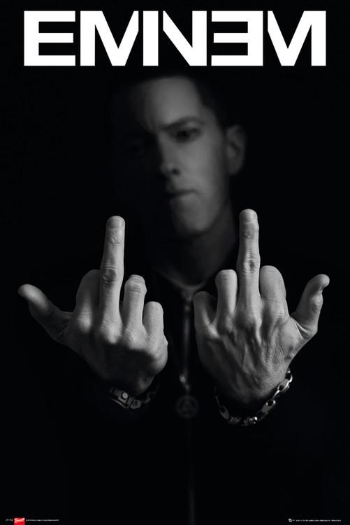 Plagát  Eminem - fingers