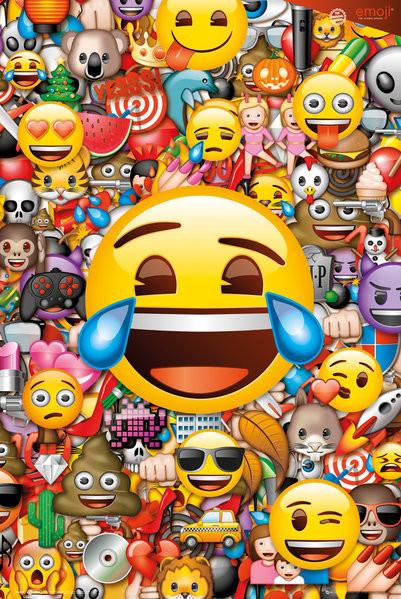 Plagát  Emoji - Collage (Global)