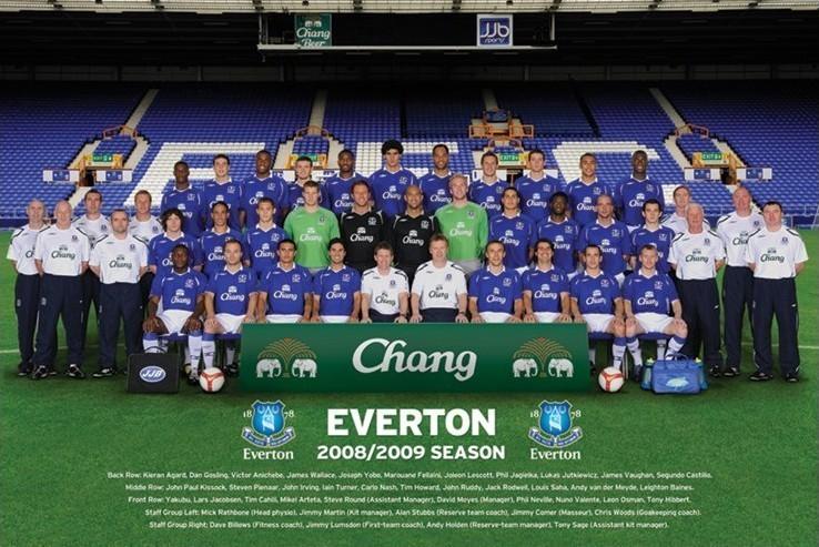 Plagát Everton - Team