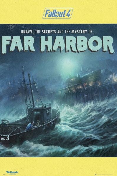 Plagát Fallout 4 - Far Harbour
