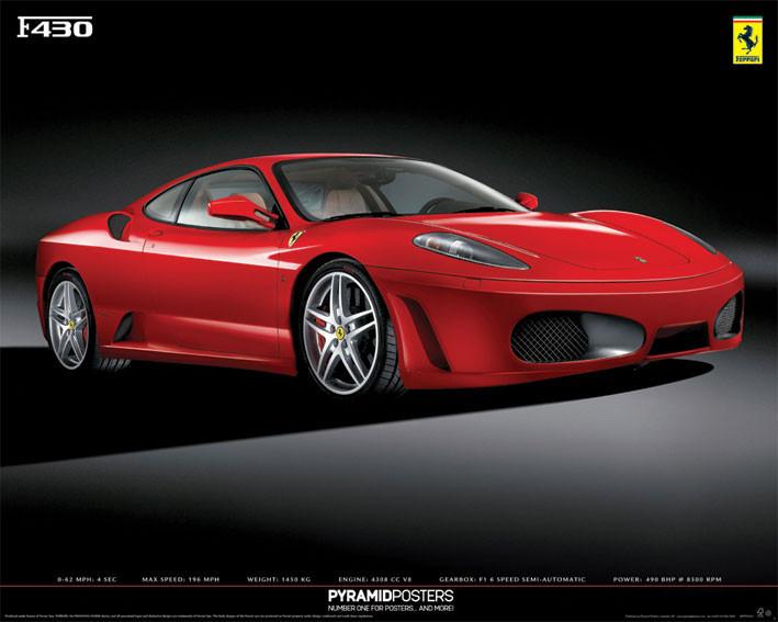 Plagát Ferrari F430