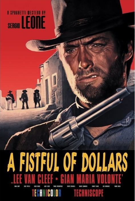 Plagát FISTFULL OF DOLLARS