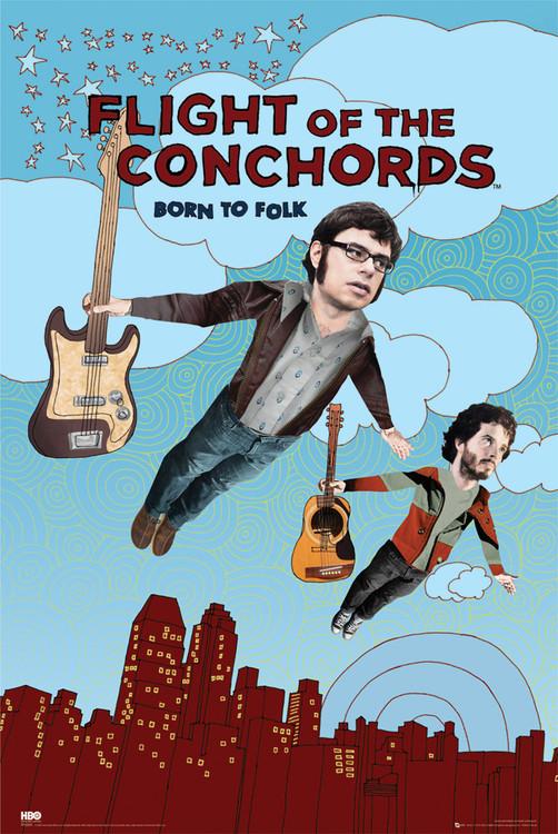 Plagát FLIGHT OF THE CONCHORDS - season 2