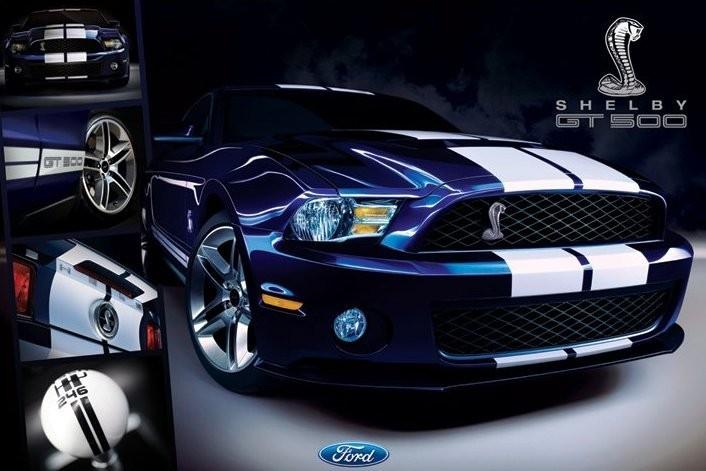 0b0366e9d5 Ford Shelby - Mustang gt500 Plagát