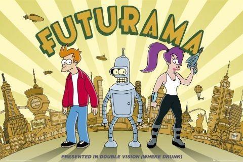 Plagát FUTURAMA - double vision