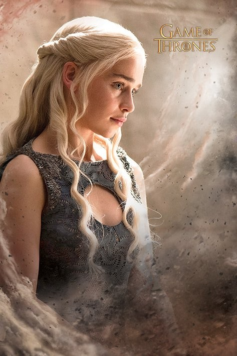 Plagát Game of Thrones - Daenarys