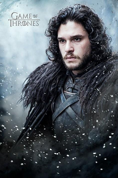 Plagát Game of Thrones - Jon Snow