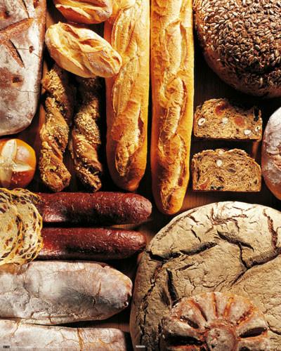 Plagát Gourmet bread