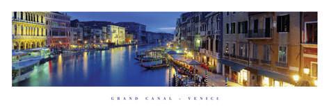 Plagát Grand canal - venice, italy