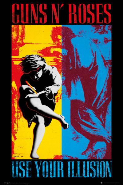 Plagát Guns'N'Roses - Illusion