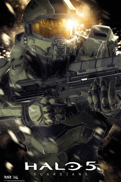Plagát Halo 5 - Master chief