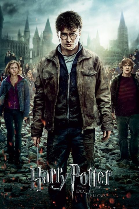 Plagát  HARRY POTTER 7 - part 2 one sheet