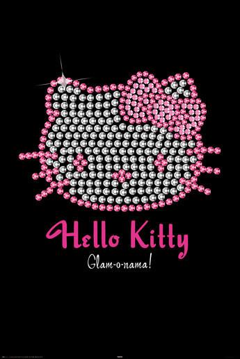 Plagát HELLO KITTY - bling