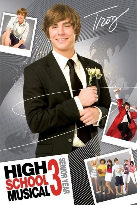 Plagát HIGH SCHOOL MUSICAL 3 - troy
