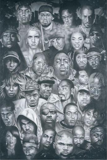Plagát Hip Hop