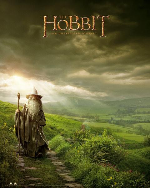 Plagát HOBBIT - gandalf