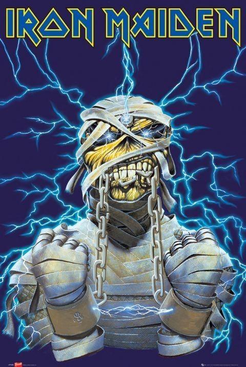 Plagát Iron Maiden - eddy