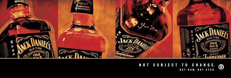 Plagát Jack Daniel's - not subject to change