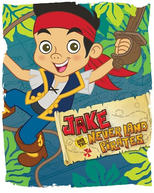 Plagát Jake a piráti ze Země Nezemě - Swing