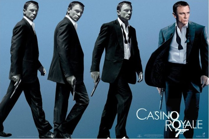 Plagát JAMES BOND 007 - casino royale