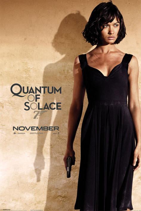 Plagát JAMES BOND 007 - quantum of solace o.kurylenko