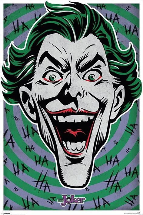 Plagát Joker - Hahaha