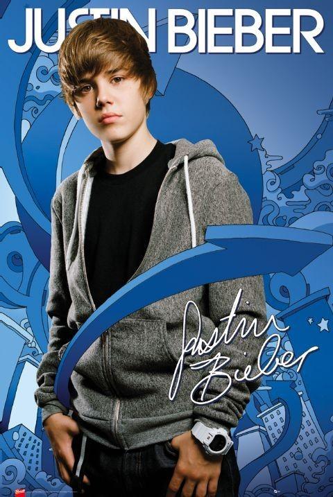 Plagát Justin Bieber - arrows