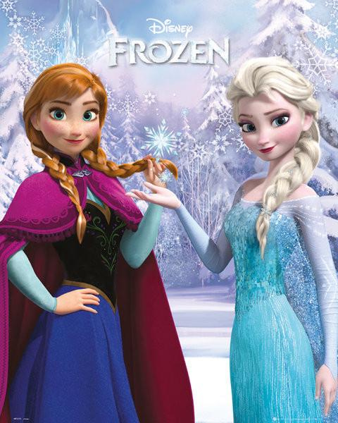 Plagát Ľadové kráľovstvo - Duo