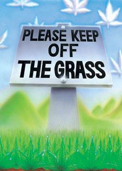 Plagát Keep of the grass