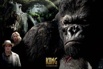 Plagát KING KONG - montage